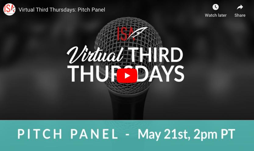 Virtual Third Thursdays: Pitch Panel